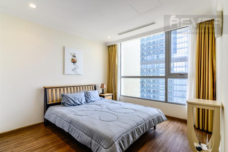 Phòng Ngủ 1 Căn hộ Vinhomes Central Park 2 phòng ngủ tầng cao L2 view sông
