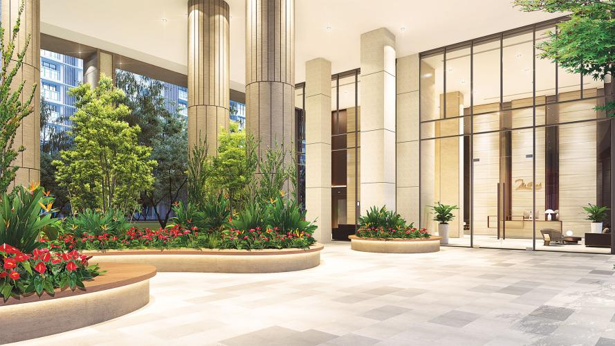 tiện ích căn hộ midtown Căn hộ Phú Mỹ Hưng Midtown tầng trung, nội thất cơ bản.