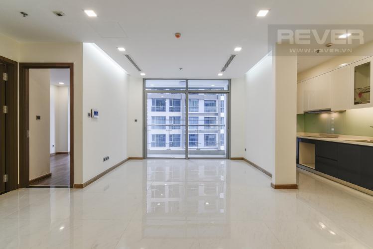 Phòng Khách Căn hộ Vinhomes Central Park 2 phòng ngủ tầng trung P3 nhà mới