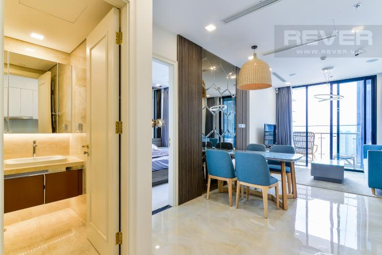 Tổng Quan Căn hộ  Vinhomes Golden River tầng cao 1 phòng ngủ, 55m2, full nội thất