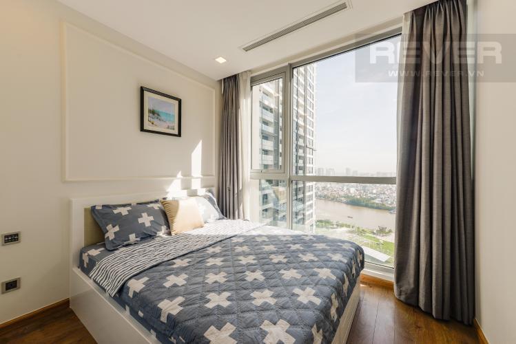 Phòng ngủ 2 Căn hộ Vinhomes Central Park 2PN tầng cao, tháp Park 6, view công viên và view sông
