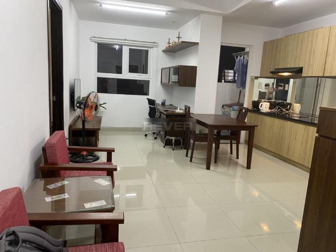Phòng khách Đạt Gia Residence, Thủ Đức Căn hộ Đạt Gia Residence đầy đủ nội thất, thoáng mát.