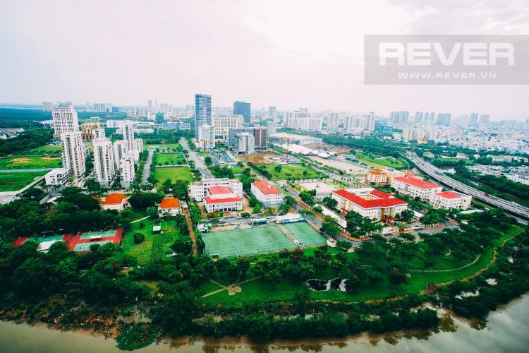 View Cho thuê căn hộ Riviera Point 2PN, tầng trung, tháp T4, đầy đủ nội thất, view sông mát mẻ