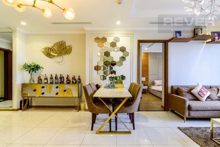 Phòng Ăn Căn hộ Vinhomes Central Park 3 phòng ngủ tầng cao L1 hướng Bắc