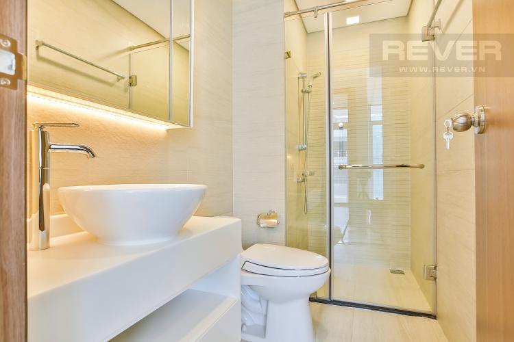 Phòng tắm 2 Căn hộ Vinhomes Central Park tầng cao tháp Park 5 thoáng mát