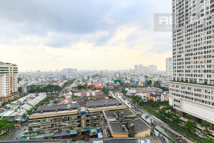 View Cho thuê căn hộ Masteri Millennium tầng trung 3PN đầy đủ nội thất, diện tích rộng rãi