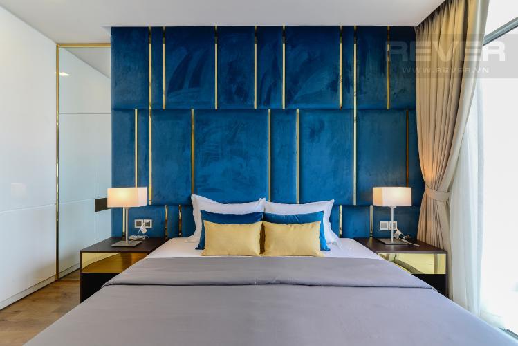 Phòng Ngủ 1 Căn góc Vinhomes Central Park 4 phòng ngủ tầng cao P2 full nội thất