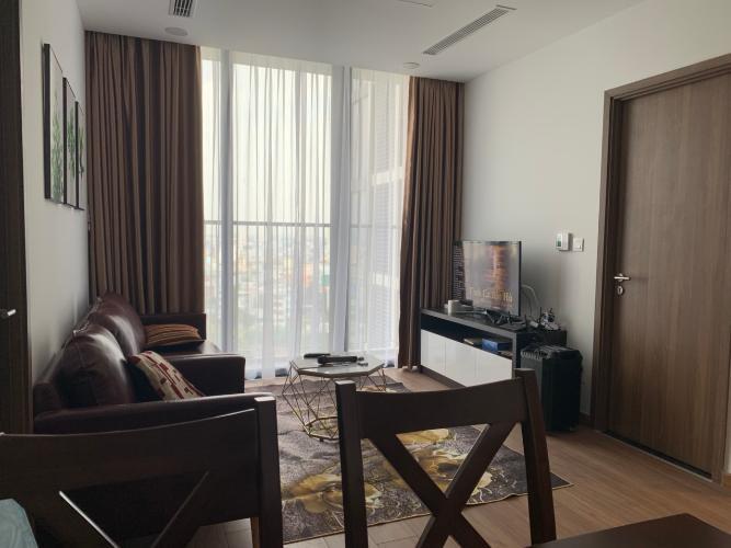 Nội thất Eco Green Căn hộ Eco Green Sài Gòn tầng trung, đầy đủ nội thất, view thành phố.