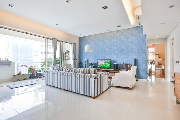 Căn hộ The Estella Residence 3 phòng ngủ tầng cao 1A view hồ bơi