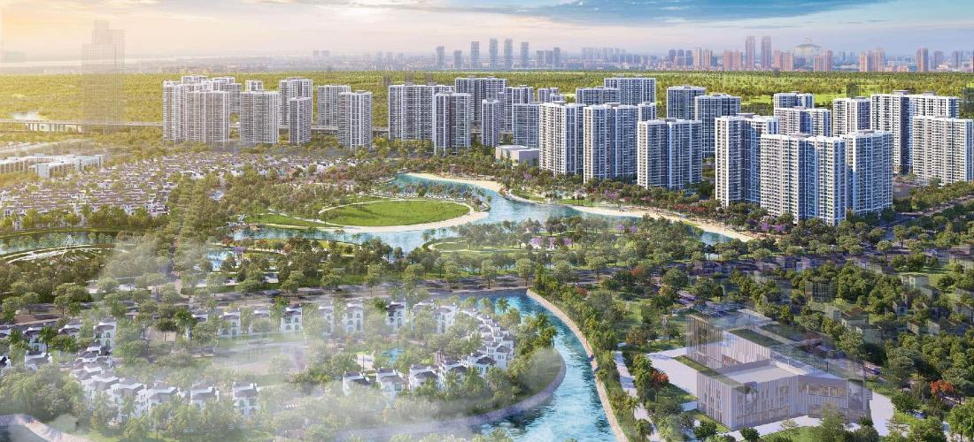 dự án căn hộ Vinhomes Grand Park  Căn hộ Vinhomes Grand Park tầng cao, ban công đón view sông thoáng.