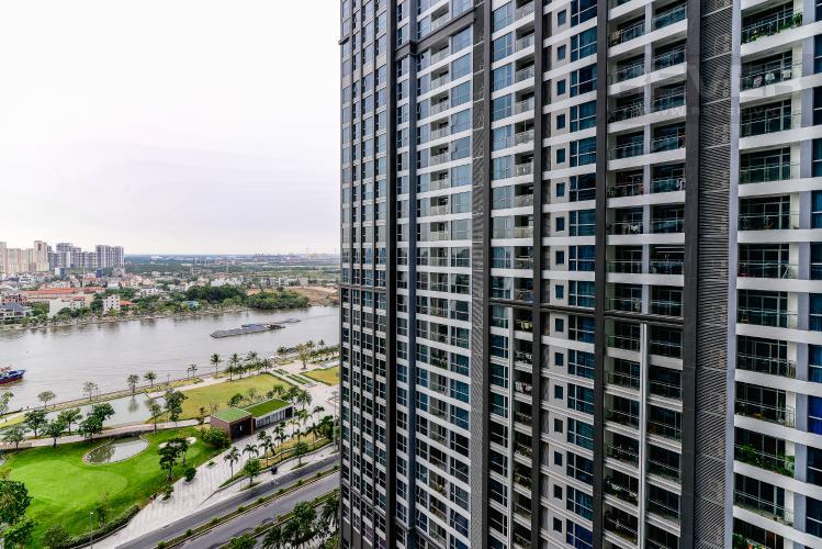 View Bán căn hộ Vinhomes Central Park tháp Park 2 tầng trung, 2 PN và 2WC, đầy đủ nội thất