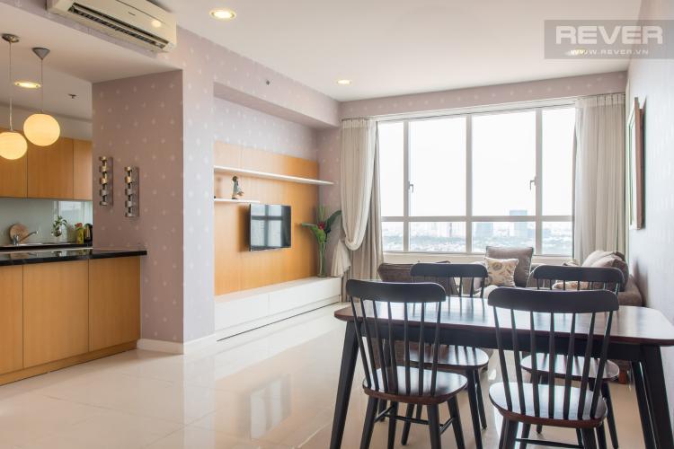 Tổng Quan Từ Cửa Vào Bán căn hộ Sunrise City 2PN, tháp V2 khu South, đầy đủ nội thất, view sông thoáng đãng