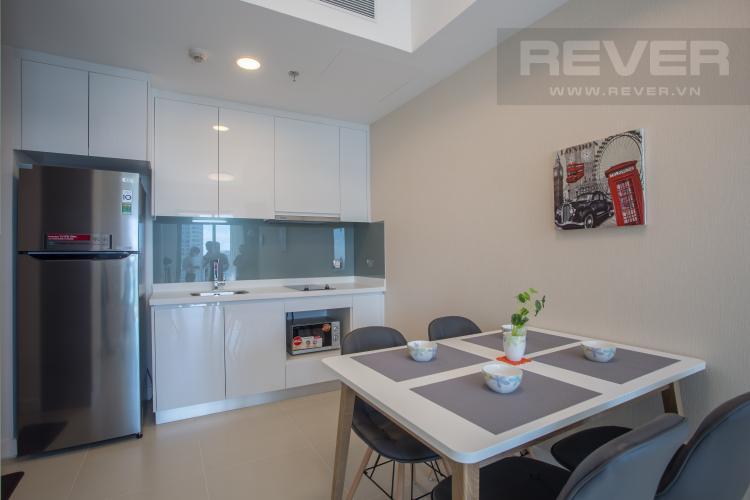 Khu Vực Bếp Cho thuê căn hộ Madison Gateway Thảo Điền tầng cao, 1PN, đầy đủ nội thất