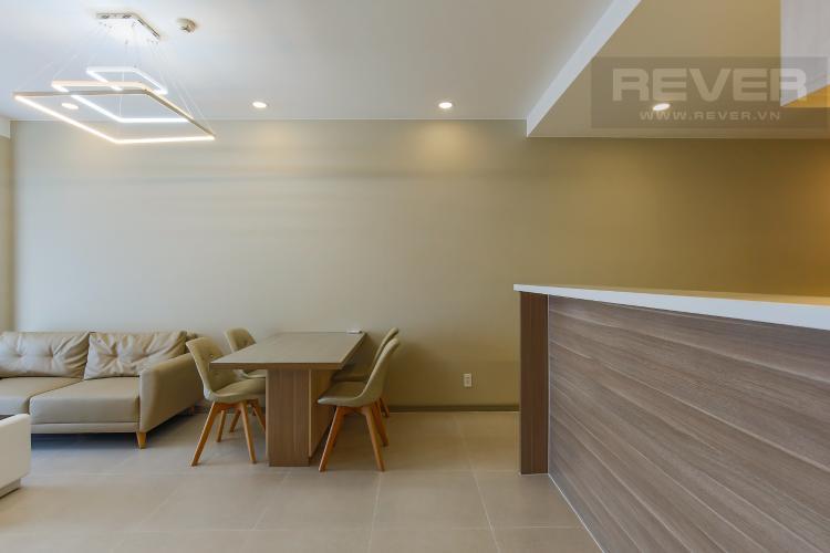 Bàn Ăn Căn hộ The Gold View 2 phòng ngủ tầng cao tháp B nội thất hiện đại