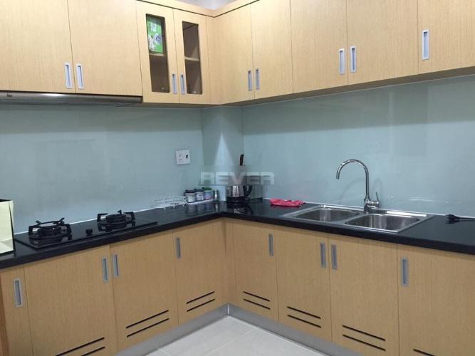 Phòng bếp căn hộ Him Lam Chợ Lớn, Quận 6 Căn hộ Him Lam Chợ Lớn view nội khu yên tĩnh, nội thất cơ bản cao cấp.