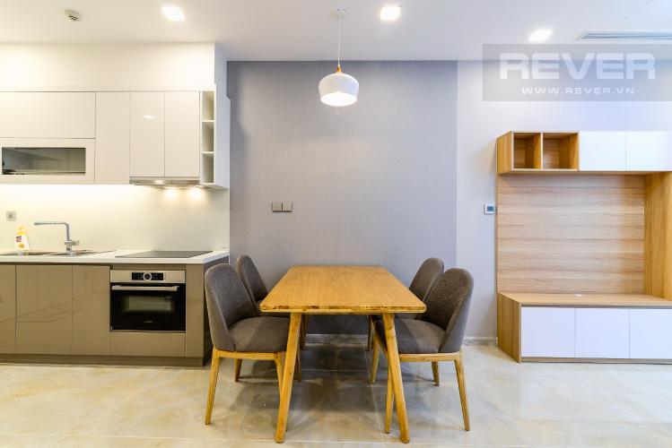 Phòng Ăn Cho thuê căn hộ Vinhomes Golden River 1PN, đầy đủ nội thất, ngay trung tâm Quận 1