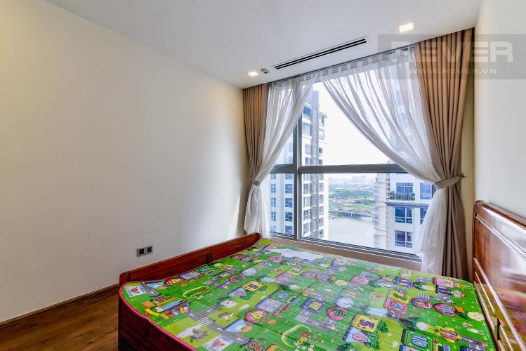 Phòng Ngủ 2 Căn hộ Vinhomes Central Park tầng cao, park 1, 3 phòng ngủ full nội thất