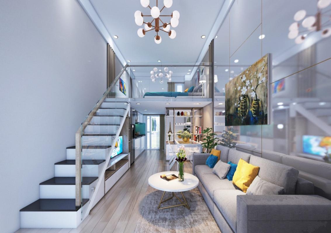 3e558a510238e466bd29 Bán căn hộ 9X Bình Tân 1PN, tầng 2, diện tích 33m2m, đầy đủ nội thất, hướng cửa Đông Nam