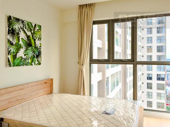 Phòng Ngủ 1 Căn hộ Masteri Millennium 2PN tầng cao, view đẹp, nội thất đầy đủ