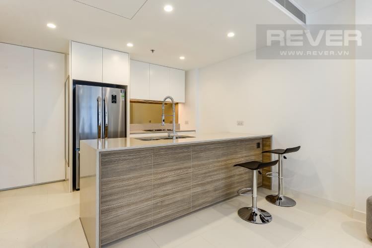 Bếp Cho thuê căn hộ City Garden 1PN, tầng cao, đầy đủ nội thất