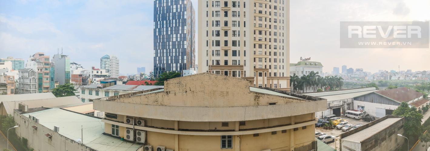 View Căn hộ The Tresor 1 phòng ngủ tầng thấp TS1 nhà trống