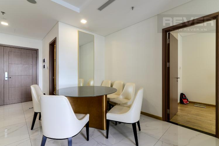 Phòng Ăn Bán hoặc cho thuê căn hộ Vinhomes Central Park 3PN, tháp Landmark 81, đầy đủ nội thất, view sông Sài Gòn