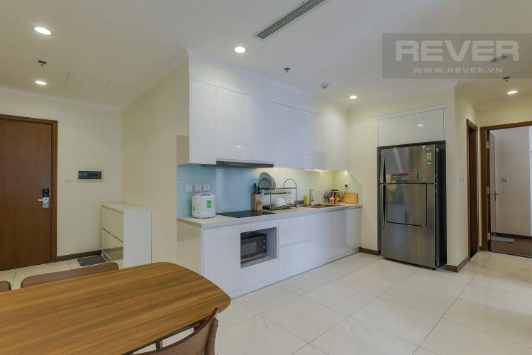 Phòng Bếp Cho thuê căn hộ Vinhomes Central Park 2PN tầng trung, diện tích 71m2, đầy đủ nội thất