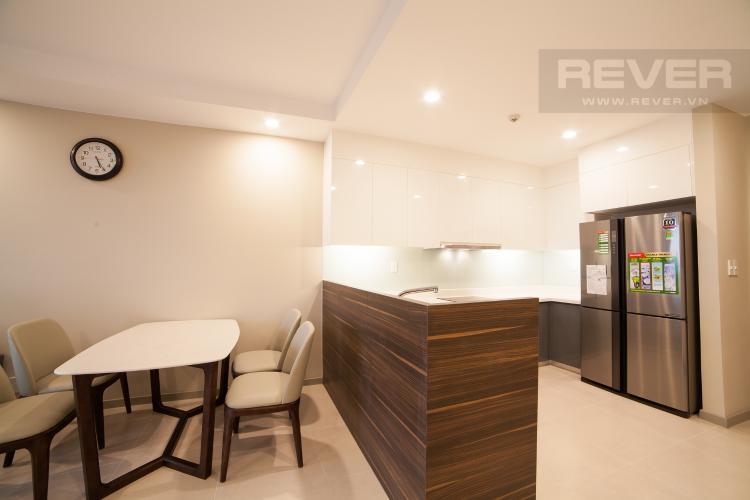 Nhà bếp Căn hộ The Gold View 2 phòng ngủ tầng cao A1 nội thất đầy đủ