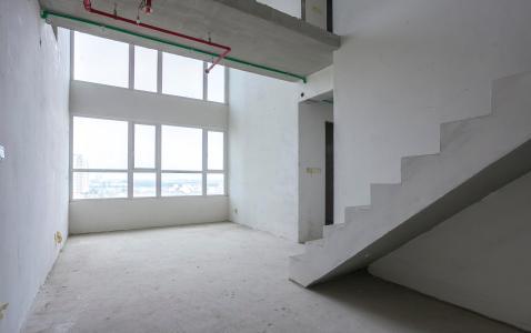 Duplex Vista Verde 2 phòng ngủ tầng trung T1 nhà thô