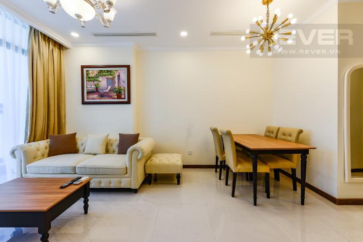Phòng khách Bán căn hộ Vinhomes Central Park tầng cao, 1PN, đầy đủ nội thất