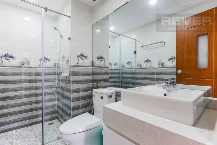 Phòng Tắm 2 Căn hộ The Gold View 2 phòng ngủ tầng trung A3 nội thất đầy đủ