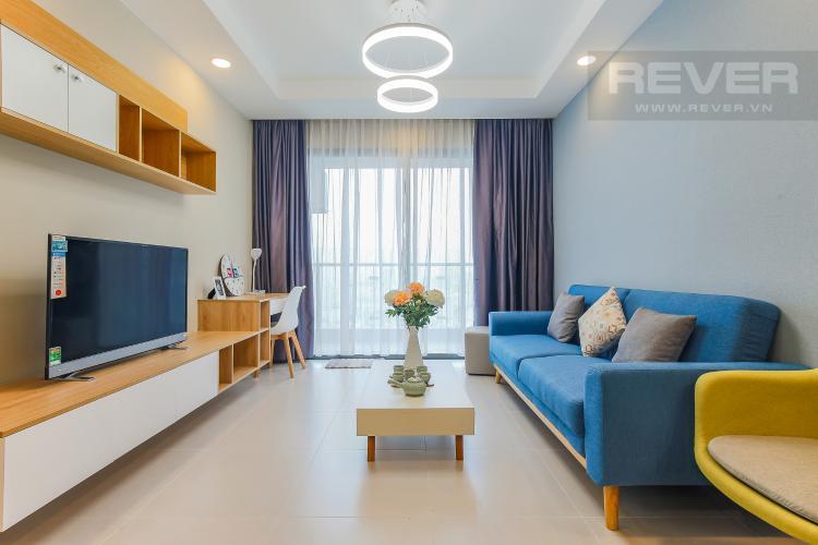 Phòng Khách Căn hộ The Gold View 2 phòng ngủ tầng cao A2 view hướng sông