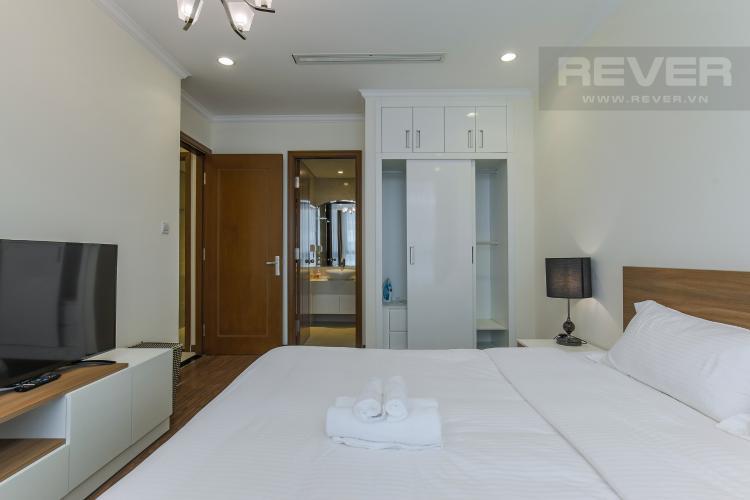 Phòng Ngủ 1 Cho thuê căn hộ Vinhomes Central Park 2PN tầng trung, diện tích 71m2, đầy đủ nội thất