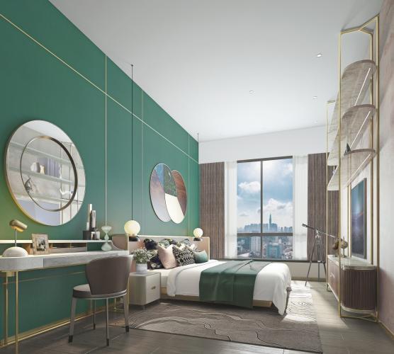 Phòng ngủ The MARQ Căn hộ The MARQ tầng thấp, nội thất cơ bản.