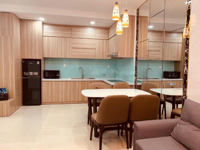 Căn hộ Sunrise Riverside tầng 15, 2 phòng ngủ, nội thất đầy đủ.