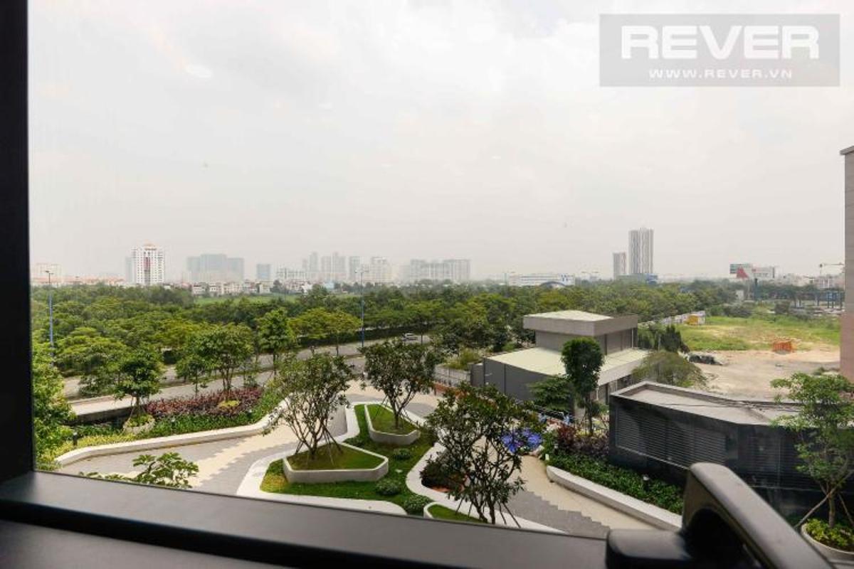 view Bán căn hộ officetel The Sun Avenue 1PN+1, đầy đủ nội thất, view đại lộ Mai Chí Thọ