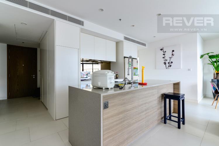 Nhà Bếp Cho thuê căn hộ City Garden 2PN 2WC, đầy đủ nội thất, view sông