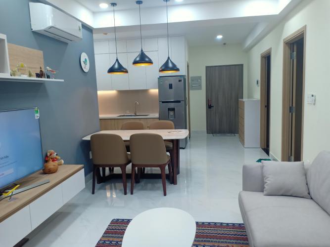 Phòng khách căn hộ Saigon South Residence Căn hộ Saigon South Residences tầng thấp, đầy đủ nội thất