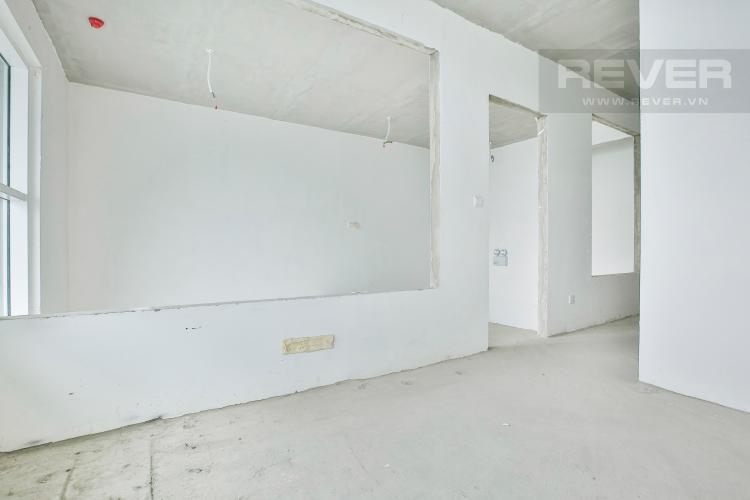 Phòng Ngủ 2 Duplex Vista Verde 2 phòng ngủ tầng thấp tòa T1 giao thô