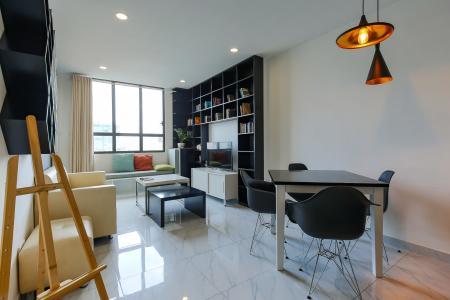 Căn hộ Icon 56 2 phòng ngủ tầng thấp đầy đủ nội thất