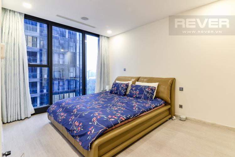 Phòng Ngủ 1 Bán căn hộ Vinhomes Golden River tầng cao, 2PN, đầy đủ nội thất