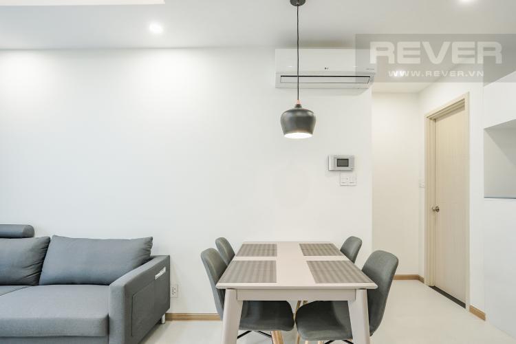 Phòng Ăn Căn hộ New City Thủ Thiêm tầng cao, 2PN đầy đủ nội thất