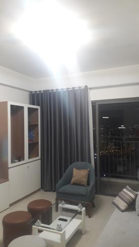 Phòng khách căn hộ The Sun Avenue Bán căn hộ The Sun Avenue tầng cao, đầy đủ nội thất, view Landmark 81.