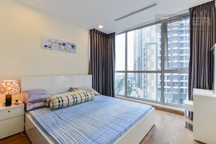 Phòng Ngủ 1 Căn hộ Vinhomes Central Park tầng thấp P6, 3 phòng ngủ, nội thất đầy đủ