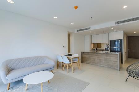 Cho thuê căn hộ City Garden 1PN, diện tích 67m2, đầy đủ nội thất