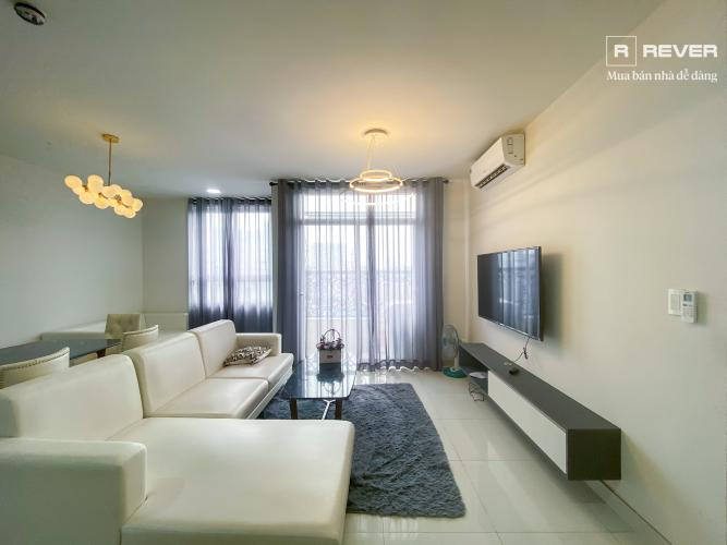 Phòng khách căn hộ GRAND RIVERSIDE Cho thuê căn hộ Grand Riverside 3PN, tầng 3A, đầy đủ nội thất, ban công hướng Đông