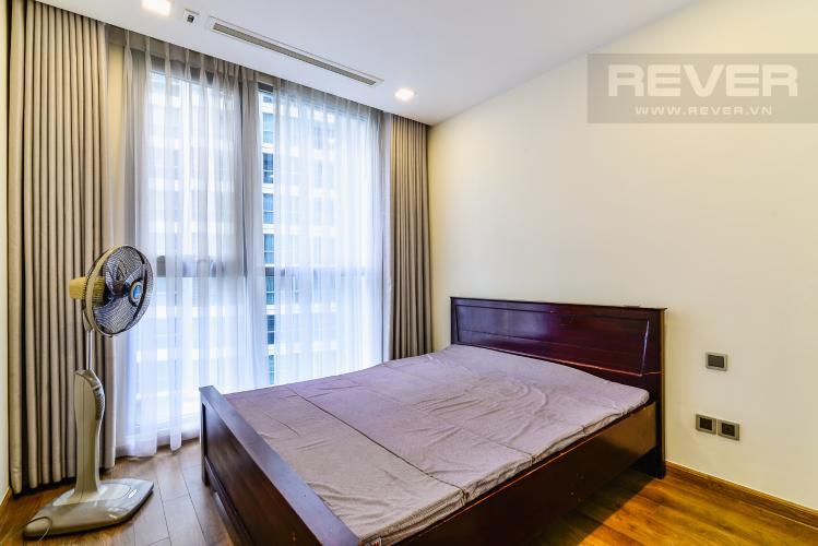 Phòng Ngủ 2 Căn hộ Vinhomes Central Park 3 phòng ngủ tầng cao Park 2 hướng Nam, full nội thất