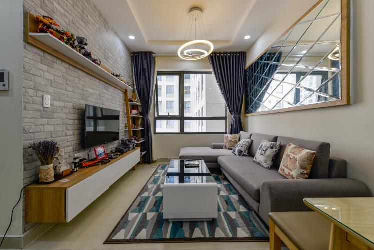 Căn hộ Masteri Thảo Điền 2 phòng ngủ tầng cao T4 hướng Tây view nội khu