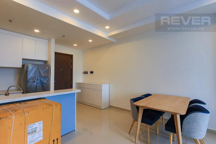 Phòng Bếp Căn góc The Tresor 3 phòng ngủ tầng cao TS1 view sông