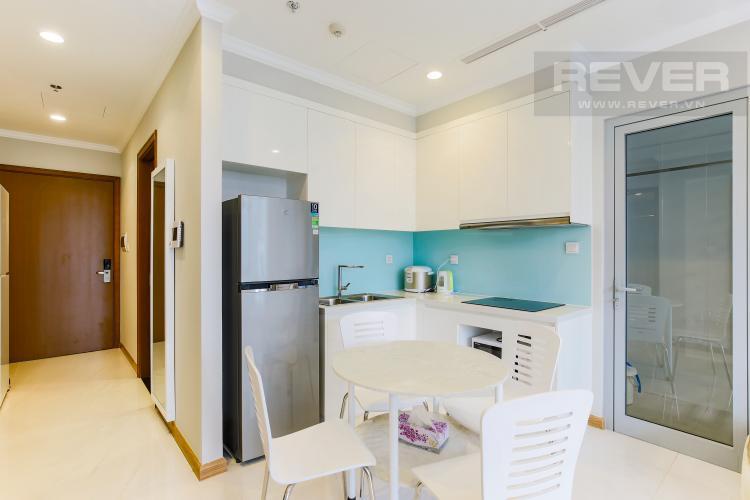 Phòng Bếp Căn hộ Vinhomes Central Park tầng thấp Landmark 2 thiết kế đẹp, đầy đủ nội thất